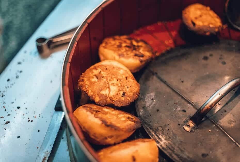 Sheng Jian Bao (pan-fried dumplings)