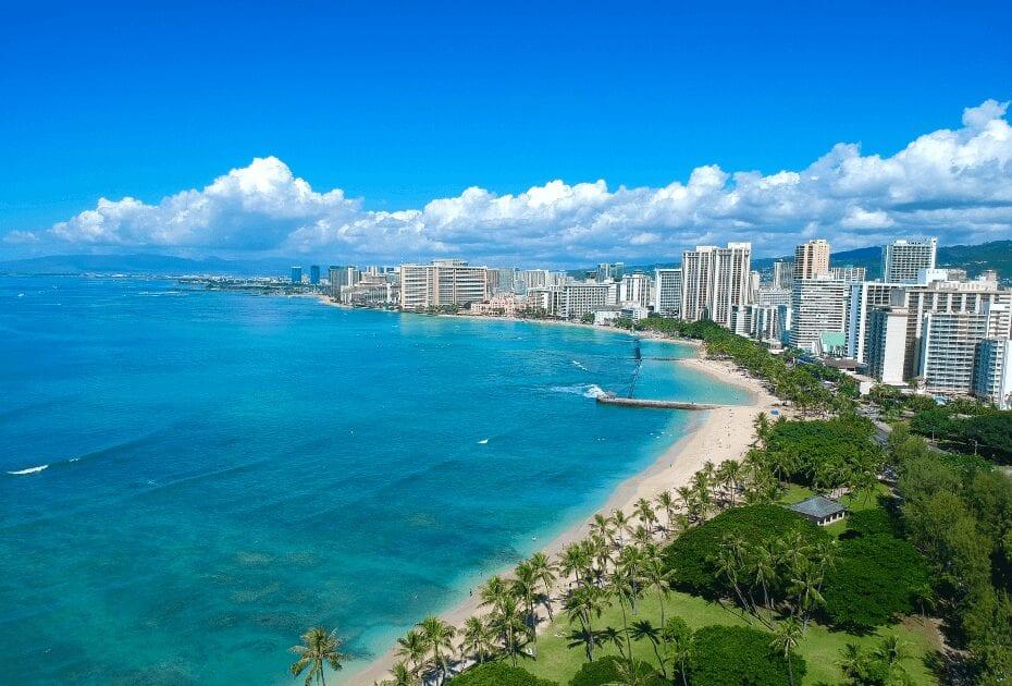 Waikiki Beach Honolulu Hawaii