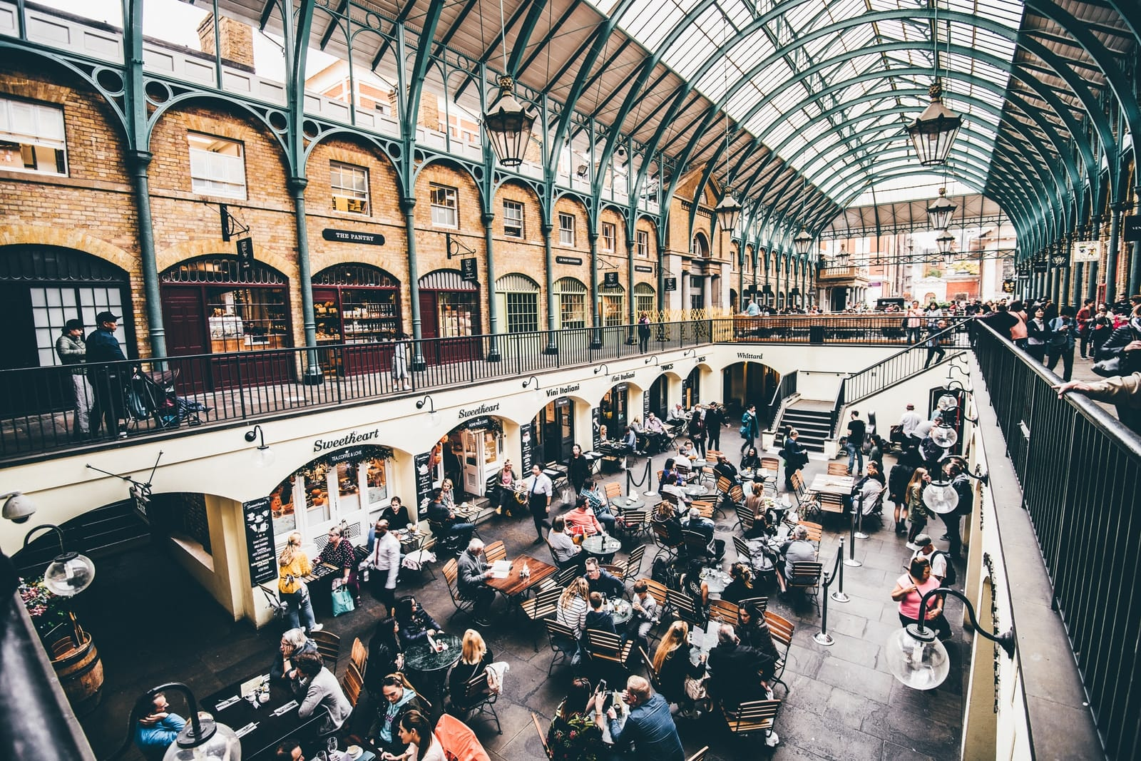 Covent Garden Market, London - One Day in London Itinerary