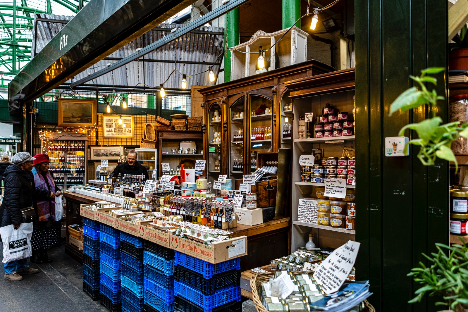 Borough Market - Two Days in London Itinerary