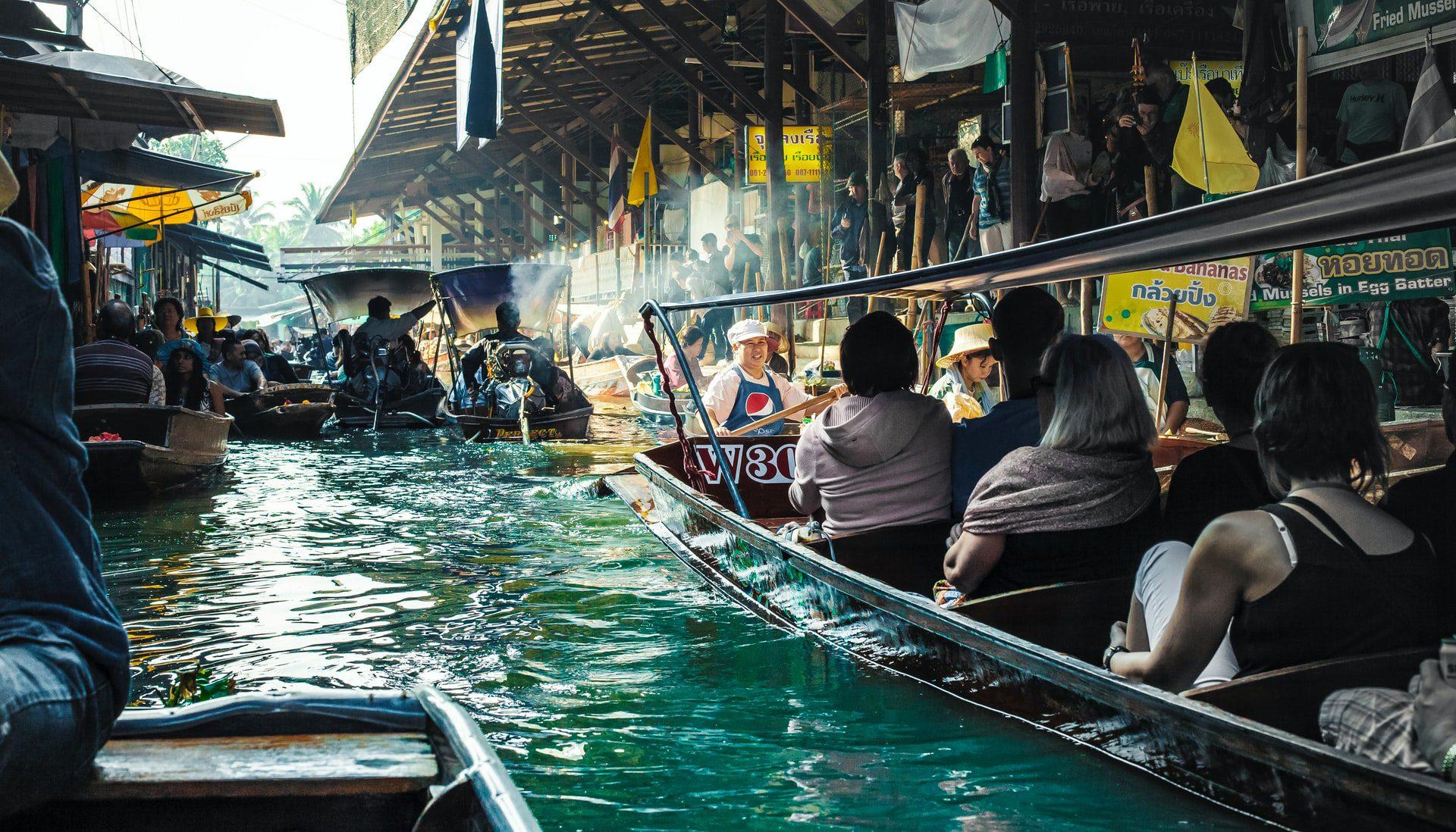 Damnoen Saduak Floating Market: What to see in Bangkok